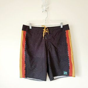 Billabong D'Bah Airlite Board Shorts Size 32 Surf